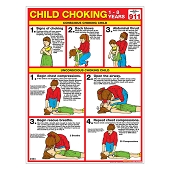 Choking Chart:  Child (Laminated)