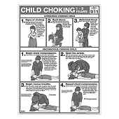 Choking Chart:  Child B&W Tearpad (50-ct)