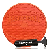Wiggle Seat Sensory Cushion in Fun Shapes - Orange Basketball