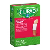 CURAD Plastic Bandages - Junior 3/8