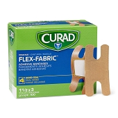 CURAD Flexible Fabric Bandages - Knuckle 1 1/2