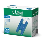 CURAD Flex-Fabric Food Service Bandages - Knuckle 1 1/2