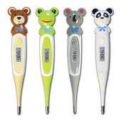 Adimals 10-Second Digital Thermometer - Bear