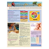QuickStudy Laminated Reference Guides - Children's Nutrition
