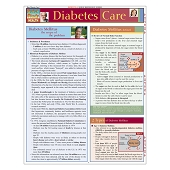 QuickStudy Laminated Reference Guides - Diabetes Care