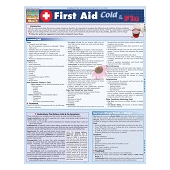 QuickStudy Laminated Reference Guides - First Aid:  Cold & Flu