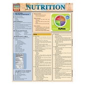 QuickStudy Laminated Reference Guides - Nutrition