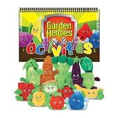 Garden Heroes Activities Kit - Activities Book (Only)