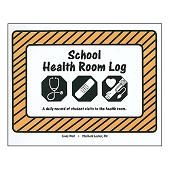 School Health Room Log