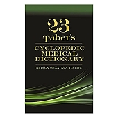 Tabers Cyclopedic Medical Dictionary