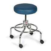 Hausmann Revolving Stool with Foot Ring