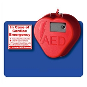 HeartStation AED Cabinet - HeartCase Stow-n-Go