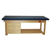 Deluxe Treatment Table with Three Drawers