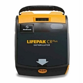 LIFEPAK CR Plus AED - Adult Electrode and Battery Set (Only)