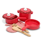 Kitchen Accessory Set with Pots & Pans