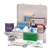 Basic First Aid Kit - Plastic