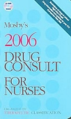 Mosby's Drug Consult For Nurses
