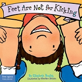 Feet Are Not For Kicking (Book Board)