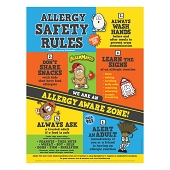 Allergy Safety Rules Poster
