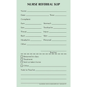Nurse Referral Slip Pads (50/Pad)