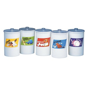 Animal Pals Sundry Jars - Plastic (Opaque)