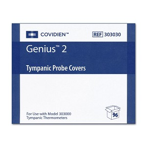Genius 2 and Genius 3 Thermometers - Probe Covers (96/Box)