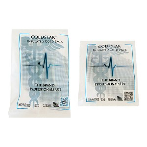 ColdStar Insulated Instant Cold Packs - 5