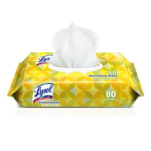 Lysol Brand Disinfecting Wipes - Flat Packs (80/Pkg)