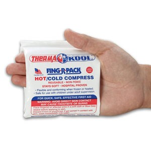 Therma-Kool Reusable Hot/Cold Pack - Finger Pack (Each)