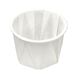 1 oz Paper Souffle Cup (250/Tube)