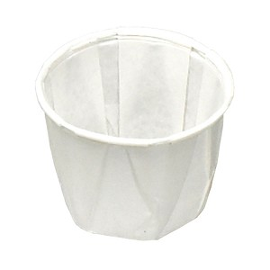 1/2 oz Paper Souffle Cup (250/Tube)