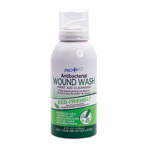 Antibacterial Wound Wash (4 oz)