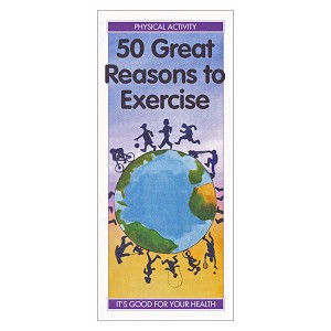 50 Great Reasons to Exercise (50/Pkg)