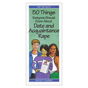 50 Things Everyone Should Know About Date and Aquaintance Rape (50/Pkg)