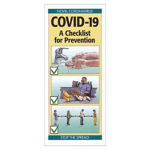 COVID-19 A Checklist for Prevention Pamphlets (50-ct)