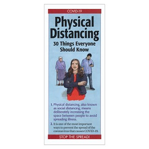 Physical Distancing: 30 Things Everyone Should Know Pamphlet (Each)