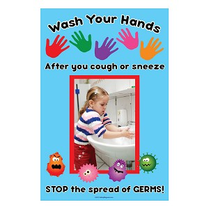 Wash Your Hands Poster (17