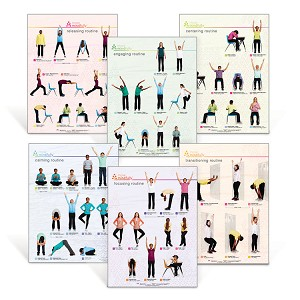 Move Mindfully Posters  (Set of 6)