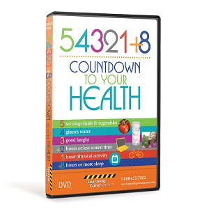 54321+8 Countdown to Your Health DVD