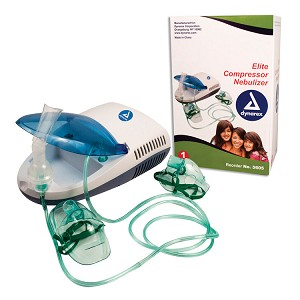 Elite Compressor Nebulizer - Replacement Kit with Adult Mask