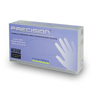 PRECISION Nitrile Powder-Free Exam Gloves - X-Large (90-ct) **CASE of 10**