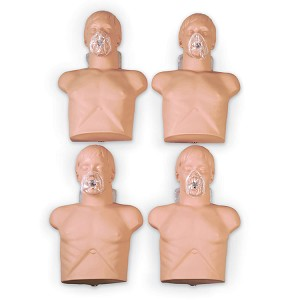 Sani-Man CPR Training Manikin - 4 Pack with Carrying Case