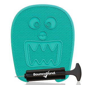 Wiggle Seat Sensory Cushion in Fun Shapes - Mint Monster