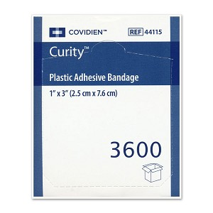 Curity Plastic Bandages - 1
