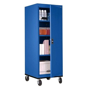 Transportable Cabinets with Swivel Casters