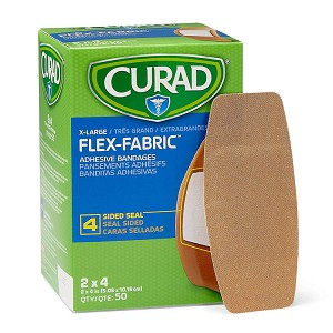 CURAD Flexible Fabric Bandages - X-Large 2