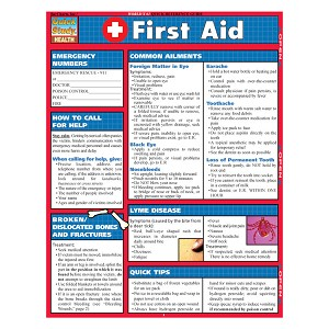QuickStudy Laminated Reference Guides - First Aid