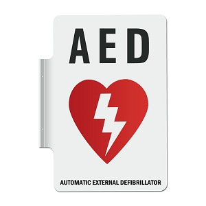 Wall Sign for AED