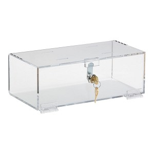 Clear Acrylic Refrigerator Lock Boxes (Small)