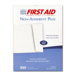 Latex-free Non-Adherent Gauze Pads (Sterile) - 3